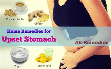 15 home remedies for upset stomach