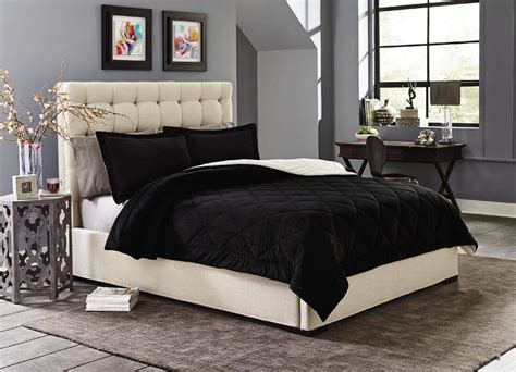 cannon comforter sets cannon silky velvet comforter set black home bed