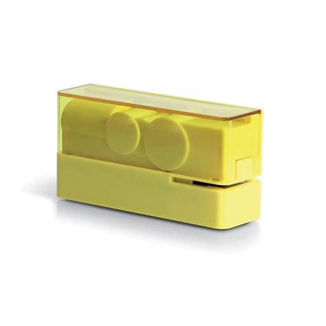 Yellow Desk Accessories Buy Lexon Flow Stapler Yellow Amara