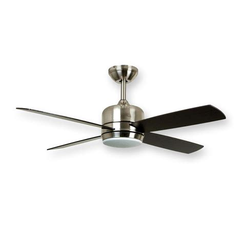 modern stainless steel ceiling fans craftmade montreal mn44ss4 44 quot contemporary ceiling fan