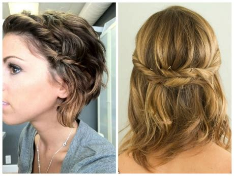 cute easy hairstyles for short hair youtube cute and simple hairstyles for short hair