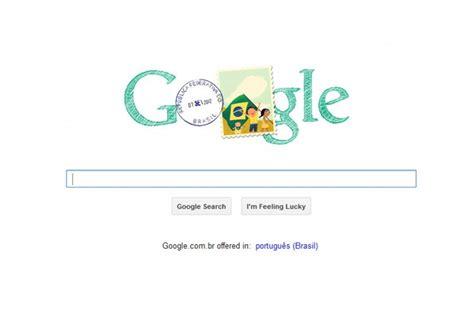 doodle independência do brasil homenageia independ 234 ncia do brasil tecnologia