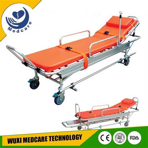 ambulance bed mt a5 wheeled folding stretcher trolley type ambulance