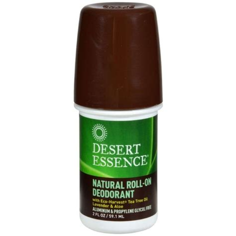 tea tree shoo for dogs desert essence roll on deodorant tea tree lavender aloe 2 oz pharmapacks