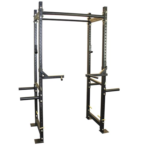Deadlift In Squat Rack titan power rack 71 5 quot squat deadlift lift cage bench racks crossfit pull ebay