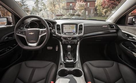 Chevy Ss Interior by Car And Driver