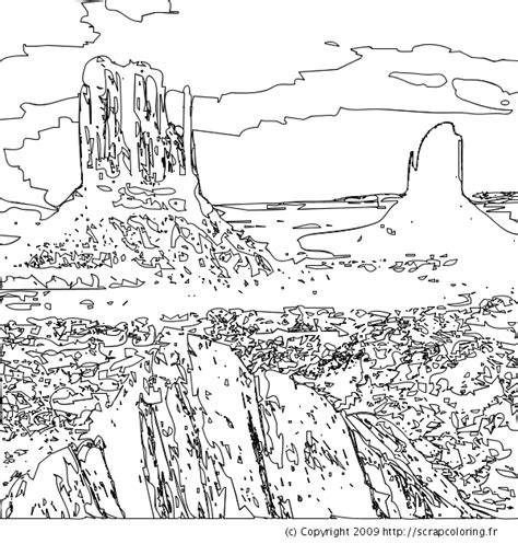 coloring pages desert landscape free coloring pages of landscape