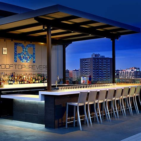 Bar Cupola by Rooftop Bar Lounge In Boston Revere Hotel Boston Common