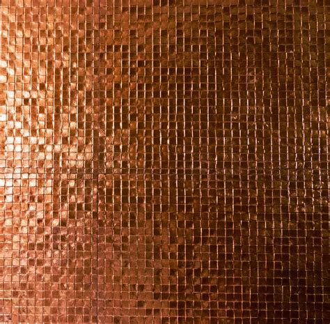 Copper Kitchen Backsplash neat things to do in your home with copper mosaic tiles