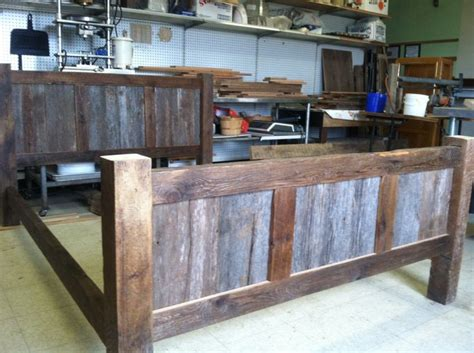 Recycled Wood Bed Frames 25 Best Ideas About Reclaimed Wood Bed Frame On Pinterest Reclaimed Wood Beds Rustic Wood