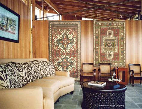Rug On The Wall by Hanging Antique Rugs As Wall Claremont Rug Company