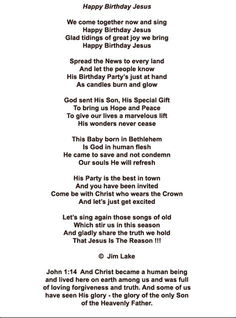 jesus poem happy birthday jesus poem decor and ideas