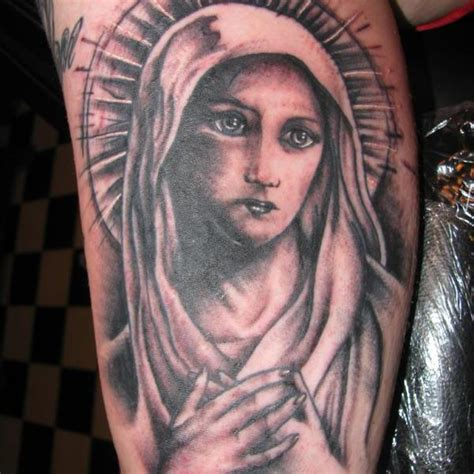 holy mary tattoo designs 53 graceful shoulder tattoos