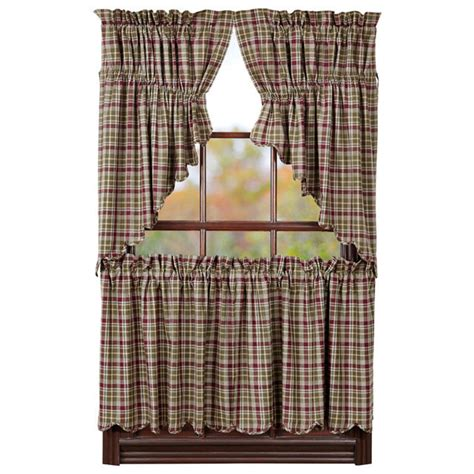 curtains 24 x 36 jackson window curtain tiers 24 quot x 36 quot