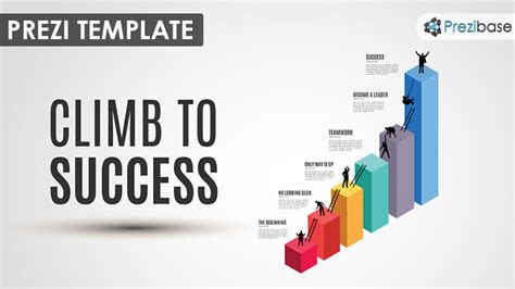 best prezi template climb to success prezi template prezibase