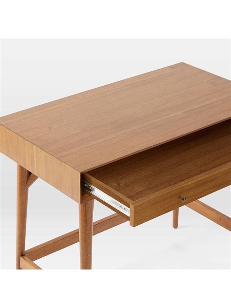 elm mid century mini desk elm mid century mini desk acorn at lewis partners