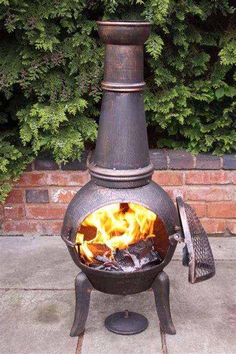 cast iron with steel chimenea all sizes savvysurf co uk