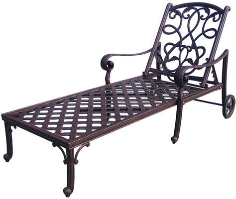 cast aluminum lounge chairs patio furniture chaise lounge cast aluminum 3pc santa