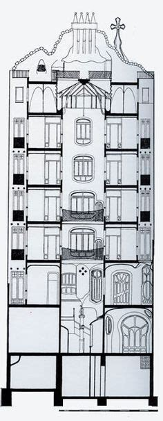 casa batllo floor plan 1000 images about gaudi on pinterest barcelona antoni