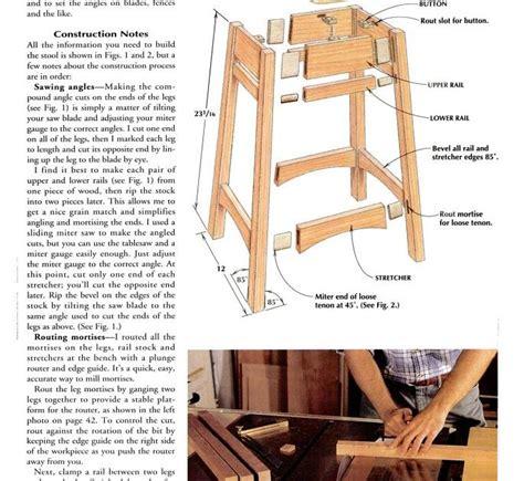 saddle seat stool plans get saddle seat bar stool woodworking plans tom