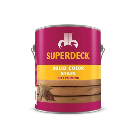 solid color stain  duckback