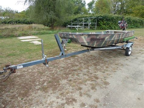 flat bottom boats for sale wi the traveler flat bottom boat online only auction united