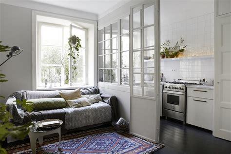 porte separa ambienti separa gli ambienti con pannelli e porte di vetro idee