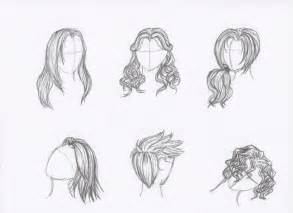 pencil sketches of hair by rozen guarde on deviantart