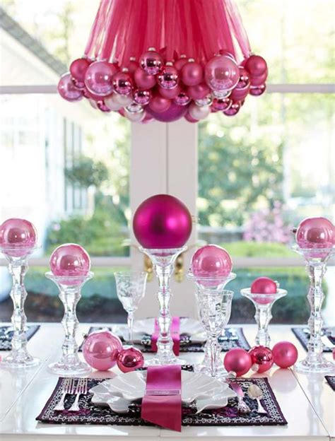 pink christmas decoration ideas christmas celebration
