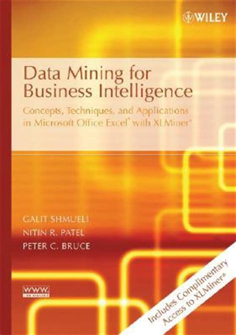 Mba In Business Intelligence And Analytics Management by Data Mining For Business Intelligence Concepts
