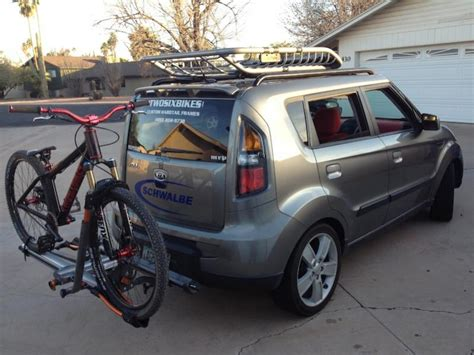 Kia Soul Bike Rack Kuat Roof Rack Made Possible By Help From Ssd And Kuat Nv
