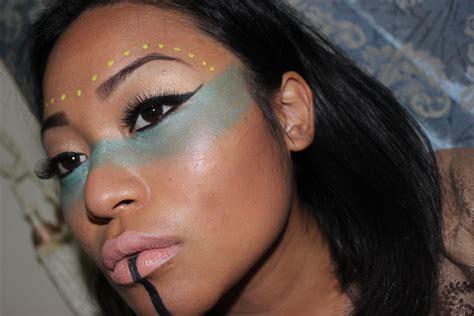 eyeliner tutorial indian native american make up tutorial indian makeup makeup