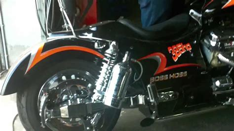 Boss Hoss Motorrad Zubeh R by Boss Hoss V8 Motorrad Youtube