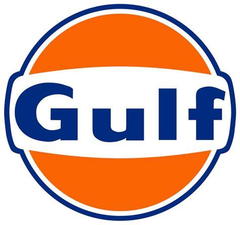 gulf oil logo tijdloos logo en mooi in evenwicht frisse kleuren
