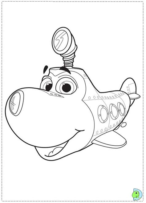 commander fox coloring page colorir olly submarino 06 jpg 691 215 960 perfectly pk