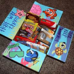 Gift Ideas For Soldiers - deployment care packages finding nemo edition i made