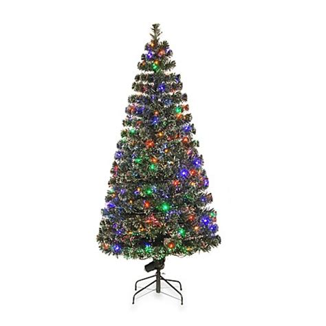 buy national tree company 6 foot fiber optic evergreen pre