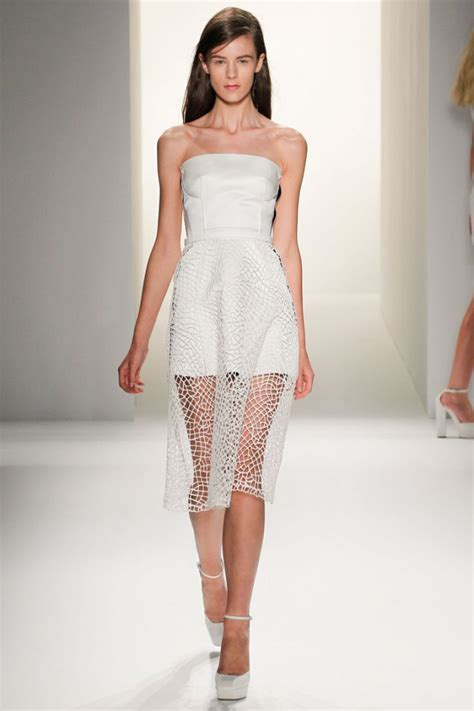 Dress Model White Style Fashion Impor 3 white wedding dress inspiration from new york fashion week