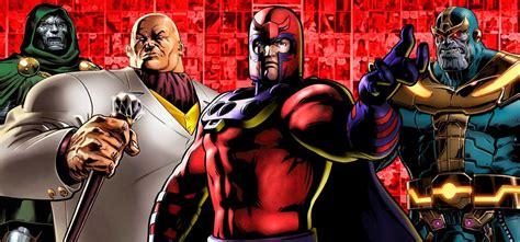 los 5 mejores villanos de dc comics hero fist los mayores villanos del universo marvel en los comics