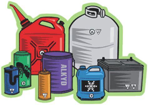 household hazardous waste disposal water  waste