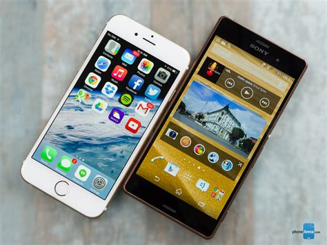 a iphone 6 apple iphone 6 vs sony xperia z3