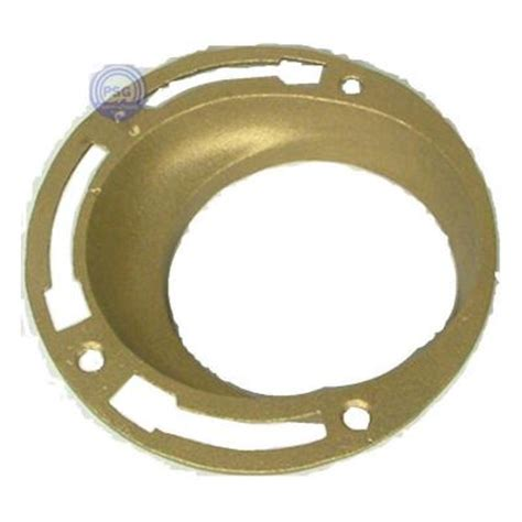 Cast Iron Offset Closet Flange by Jones 4 In Cast Brass No Hub Offset Closet Flange Tff04 The Home Depot