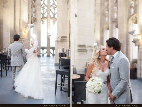 Natalie   Ed Swiderski Tribune Tower Chicago Wedding