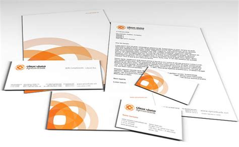 Bank Letterhead 9 Beautiful Integrated Brand Identities From Retail Banks