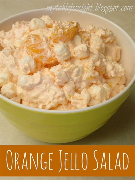 Orange Jello With Cottage Cheese by Orange Jello Salad Recipe Orange Jello Salads Living