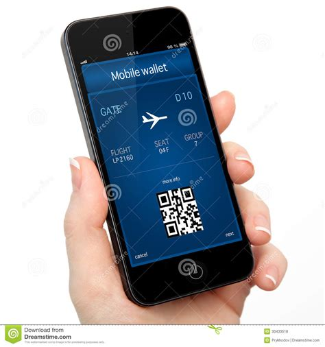Your Mobile Phones The Ticket To The 02 Wireless Festival With Oyster Card Style Technology by Isolated Holding The Phone With A Mobile Wallet