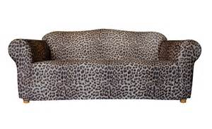 three seater leopard print sofa cover by sure fit