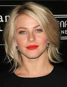 Choppy layered hairstyles for round faces together with short haircuts