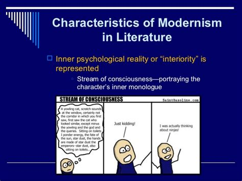 themes of modernism in british literature literary modernism