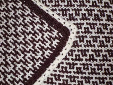 Interlocking Crochet Zig Zag Pattern | interlocking crochet cathedral windows florentine zigzag